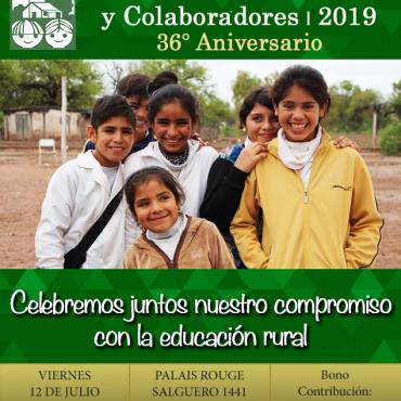 Cena Anual de Padrinos y Colaboradores 2019 – 36 Aniversario